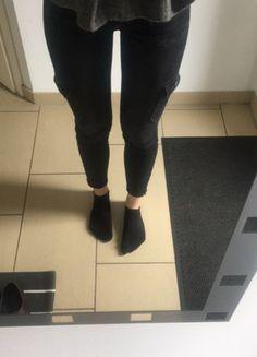 Kaufe meinen Artikel bei #Kleiderkreisel http://www.kleiderkreisel.de/damenmode/rohrenjeans/159638860-zara-cargo-jeans-hose