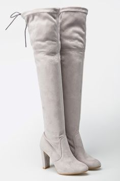 Cizme inalte, peste genunchi - Carinii Knee Boots, Shoes, Fashion, Moda, Zapatos, Shoes Outlet, Fashion Styles, Knee Boot, Shoe
