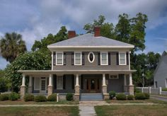 Fitzgerald GA Historic District Ware Mashburn House Photograph Copyright Brian Brown Vanishing South Georgia USA 2014