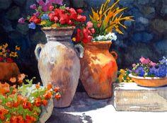 Erin Dertner's Easel Events: Sunlit Blossoms