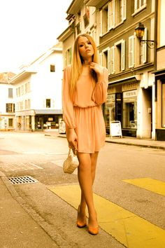 Love LOVE, Love Wag World™    *Tan Chiffon Long Sleeve Dress*    https://wagworld.co.uk/index.php/shop/dresses/tan-chiffon-long-sleeve-dress-by-love.html