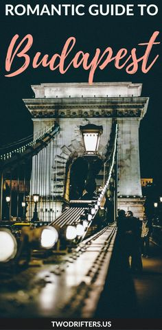 #Hungary. From baths to cafes to stunning views, this city is bursting with romance. This list of romantic things to do in Budapest will help you plan a magical trip. #Budapest | Things to do in Hungary | Budapest travel guide | Eastern Europe Travel | European honeymoon | Romantic getaway | Romantic destinations | Romantic places | Couples travel
