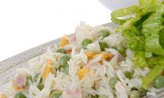 Receta de Ensalada de arroz tres delicias