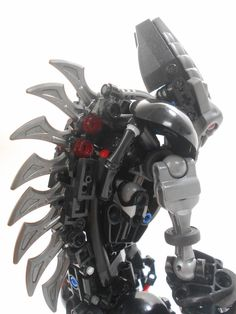 Moriarch the Blood Usurper Lego Mechs, Lego Bionicle, Lego Bots, Lego Fire, Lego Sculptures, Micro Lego, Hero Factory, Cool Lego Creations, Lego Minecraft