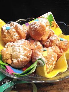 Fulvia's Kitchen Castagnole di Carnevale fritte