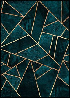 Deep Teal Stone Alu Dibond Print Order now at: moeb .ladendirek… Deep Teal Stone Alu Dibond Print Order now at: moebel. Motif Art Deco, Art Deco Tiles, Art Deco Print, Art Deco Pattern, Art Patterns, Poster Online, Deep Teal, Geometric Art, Geometric Poster