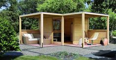 Amazing Shed Plans - Artikelbild - Now You Can Build ANY Shed In A Weekend Even If You've Zero Woodworking Experience! Start building amazing sheds the easier way with a collection of shed plans! Outdoor Sheds, Outdoor Spaces, Outdoor Living, Summer House Garden, Home And Garden, Garden Structures, Outdoor Structures, Bungalow, Eckhaus