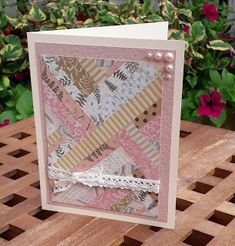 The Stamp Pad: Stash-Busting Backgrounds Stamp Pad, Backgrounds, Paper Crafts, Frame, Inspiration, Decor, Background Pics, Biblical Inspiration, Decorating