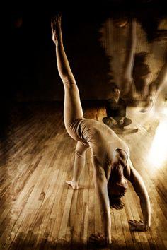 Flexible spine, flexible mind.