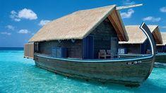 Boat hotel at Cocoa Island Resort, Maldives ! ♥ Does anybody has any reason no to go to Maldives ?Boat hotel at Cocoa Island Resort, Maldives ! ♥ Does anybody has any reason no to go to Maldives ? Maldives Voyage, Maldives Resort, Maldives Trip, Maldives Accommodation, Maldives Tourism, Maldives Hotels, Maldives Honeymoon, Resort Spa, Dream Vacations
