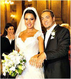 Retrô - Casamento de famosos 2012. Belo e Gracyanne Barbosa