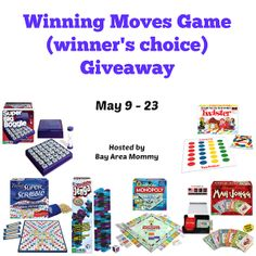 Ends 5/23 - Open US 18+ Only.  Get a chance to win your choice of game from Winning Moves!