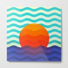 Buy #019 OWLY swimming at the sunrise Metal Print by owlychic. Worldwide shipping available at Society6.com. Just one of millions of high quality products available. #frame #building #canvas #canvasprint #walldecor #prints #artwork #print #canvas #poster #print #wallappers #background #owlychic #tapestry #hanger