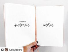 #Repost @luckyletters with @repostapp ・・・ ready for this upcoming month  • i've been a little busy these past couple of days and have sadly neglected setting up my monthly spreads for october, but i will be doing my end-of-the-month review later today to see what spreads / what style worked and what didn't work -- after which, i will be setting up october!!!