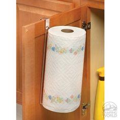Over Cabinet Paper Towel Holder