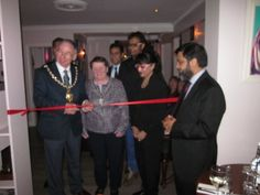 Grand Opening of East India Cafe by the Mayor of Cheltenham