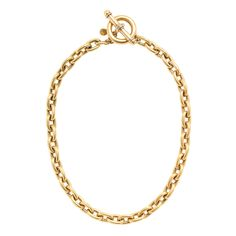 Anchor lock necklace : necklaces | J.Crew