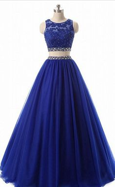Royal Blue Jewel Neck Two Piece Prom Dresses Appliqus Beaded Formal Evening Dresses Party Gowns Robe De Soiree Special Occasion Dresses Royal Blue Jewel Neck Two Piece Prom Dresses Royal Blue Prom Dresses, Strapless Prom Dresses, Quince Dresses, Mermaid Prom Dresses, Chiffon Dresses, Bridesmaid Gowns, Two Piece Quinceanera Dresses, Prom Dresses Two Piece, Pretty Dresses