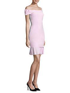 La Petite Robe di Chiara Boni - Dalane Off-The-Shoulder Dress