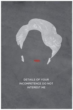 """The Devil Wears Prada"" Minimalist Poster by DJonesPosters on Etsy ($15 USD)"