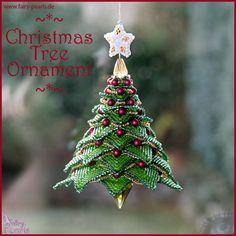 paula adams christmas tree | Christmas Tree Ornament *~