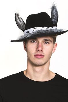 Big Bad Wolf Hat with Ears