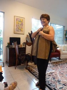 Judy Kessinger, the Fit Doctor, presented to us at Pennie Fabrics in Sarasota, Dec 2015