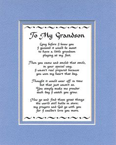 PIN IT HAPPY BIRTHDAY GRANDSON Free Happy Birthday Grandson - Free childrens birthday verses for cards