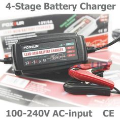 Cheap Charger, Buy Directly from China Suppliers:Free shipping wholesale original 12V 10A 7-stage smart Lead Acid Battery Charger Car battery charger pulse charger USD 6