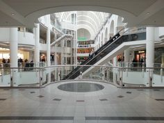 Bentals shopping centre in Kingston Upon Thames, SW London