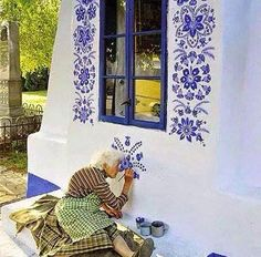 [New] The 10 Best Art Today (with Pictures) - lady Agnes Kašpárková delicately paints traditional Moravian ornament . Check out these pages: . No Copyright Infringement IntendedEmail (contact) us to fix/removal