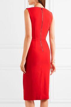 Antonio Berardi - Stretch-cady Dress - Red - IT50