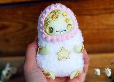 glow toy ooak fantasy doll magic figurine Halloween doll ghost