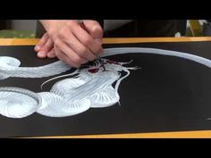 Japanese Dragon One Stroke Painting - YouTube