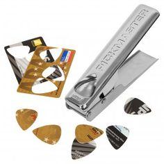 #design3000 #gifts #guitar #gitarre Plektrum Stanzmaschine Pickmaster - für selbstgemachte Plektren.