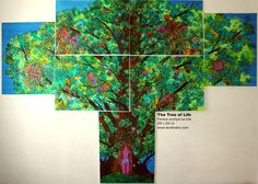 The Tree of Life #art #painting