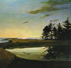 Andrew Wyeth, Jupiter, 1998