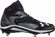 Under Armour Men's Yard Mid Metal Baseball Cleat
