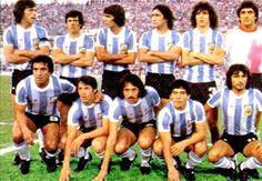 1979 Argentina, Top, left to right: Daniel Alberto Passarella, René Orlando… Retro Football, Football Soccer, Soccer Teams, Fifa, Argentina Football, Argentina National Team, Diego Armando, National Football Teams, Soccer World