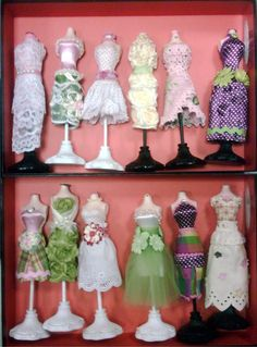 mini dress forms