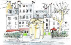 Urban Sketchers Paris: Paris 12e