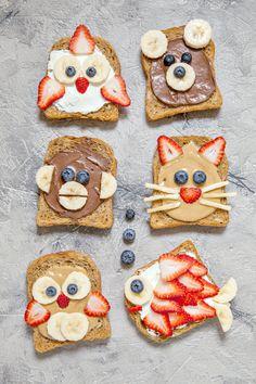 Healthy Breakfast Ideas Toast Ideas For Kids kidfriendly breakfast Strickmuster f r Kinder Healthy Breakfast Ideas Toast Ideas For Kids Healthy Breakfast For Kids, Healthy Meals For Kids, Kids Meals, Healthy Recipes, Healthy Food, Dinner Healthy, Eating Healthy, Clean Eating, Snacks Kids