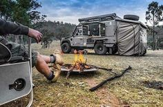 Land Rover Defender Adventure Lifestyle camping trip to. Landrover Defender, Land Rover Defender Camping, Defender Camper, Pick Up, 4x4, Overland Trailer, Overland 4runner, Off Road Camper, Expedition Vehicle