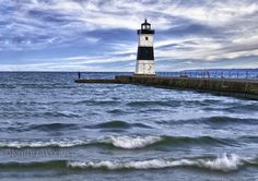 North Pier Lighthouse, Erie,PA