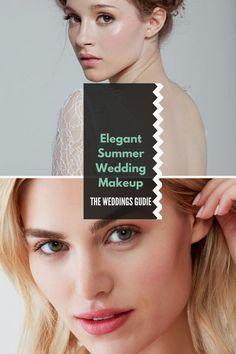 Elegant Summer Wedding Makeup Tips and Ideas #makeupideas