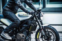 The 2017 Husqvarna 401 Vitpilen And 401 Svartpilen Are Finally Here In Production Form Custom Cafe Racer, Motor Scooters, Scrambler, Transportation, Motorcycle, Bike, Vehicles, Cafe Racers, Motors