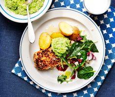 Ett fantastiskt recept på ärtpesto med fröstekt torsk, där den supersmarriga ärtpeston och ljuvliga fröstekta torsken bildar en underbar smakkombination! Servera den perfekt stekta torsken tillsammans med nykokt potatis, fräsch medelhavssalladsmix och ärtpeston. Ett recept som helt enkelt måste testas!