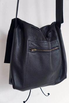 da99284b8 Bolsa Messenger Bucket Crossbody Bag Black Bolsos De Moda, Bolsos De Cuero,  Costura,