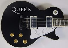 Brian May QUEEN Signed Autograph Guitar