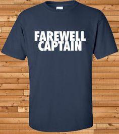 Farewell Captain tshirt Derek Jeter tshirt New by OwnageTees 45f226e4d